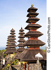 Pura Besakih, Bali, Indonesia - Image of part of a temple...