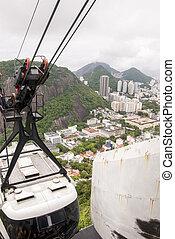 Cable car to Sugar Loaf - Rio de Janeiro - RIO DE JANEIRO,...