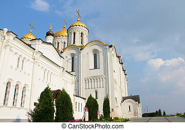 Uspensky cathedral in Vladimir, Russia