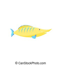 Children's drawing of a fish