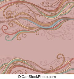abstract vector backgroung - abstract vector wave pattern on...