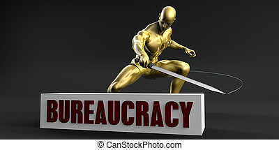 Reduce Bureaucracy and Minimize Business Concept