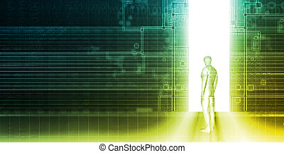 Security System and Access Control of Private Data