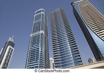 Dubai Skyline, UAE - Image of Dubai skyline, United Arab...