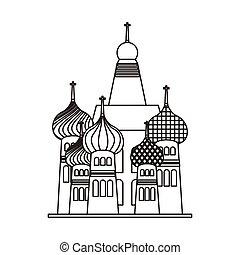 tag mahal frame icon vector illustration design