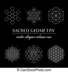 Sacred Geometry Volume One - Set of Sacred Geometry Art....