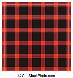 Background of Scottish fabric - Background of geometric...