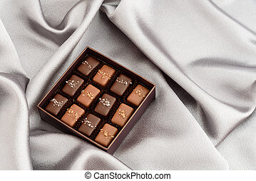 Special occasion chocolate - Special occasion box of salted...