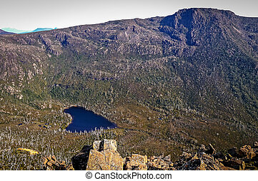 Mountain lake at Mt Field, Tasmania, Australia
