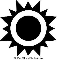 Sun Icon - vector sun icon