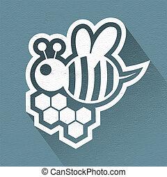 honey symbol - photo detail of honey symbol