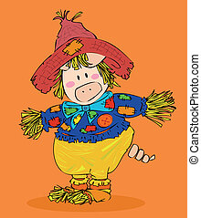 Halloween Scarecrow.