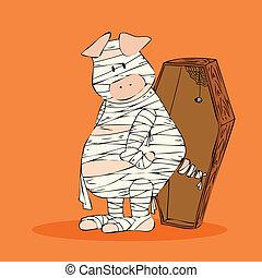 Halloween Mummy.