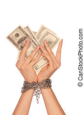 arrested counterfeiter - The arrested counterfeiter with the...