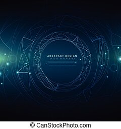 abstract futuristic technology mesh background