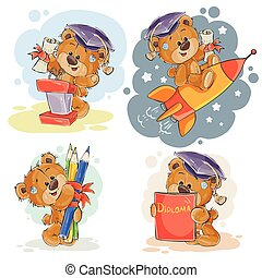 Funny illustrations for greeting cards and childrens books...