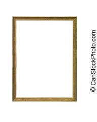 Goldcoloured frame