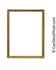 Goldcoloured frame