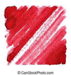 golpes, Extracto, oblicuo, Plano de fondo, rojo