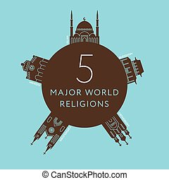 Temples of world different religions. Travel - Temples of...