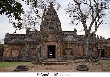 Phanom Rung temple - BURIRAM, THAILAND - CIRCA FEBRUARY 2017...