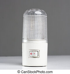 A new generic LED night light that turns on automatically in...