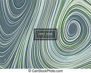Abstract artistic curl background - Abstract artistic...