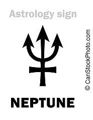 Astrology: planet NEPTUNE - Astrology Alphabet: NEPTUNE,...