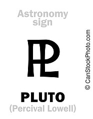 Astrology: astronomical sign of PLUTO - Astrology Alphabet:...