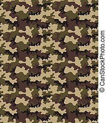 Fashionable camouflage pattern, military print .Seamless...