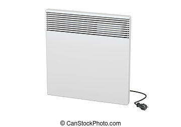 Convection heater, 3D rendering isolated on white background...