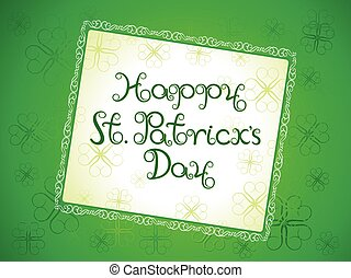 abstract artistic st patrick background.eps - abstract...