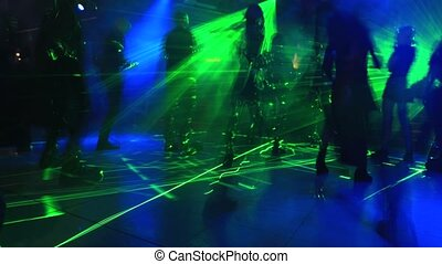 dark discotheque dancing - Entertainment, leisure and...