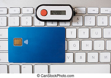 Contactless credit card and security pin generator