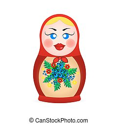 Russian dolls icons