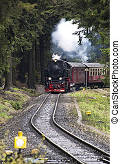 Railroad - RAilroad in Harz Mountains, Germany