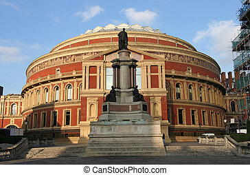 Albert Hall in London - Royal Albert Hall in Kensington,...
