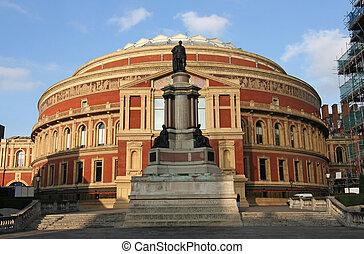 Albert Hall in London - Royal Albert Hall in Kensington,...