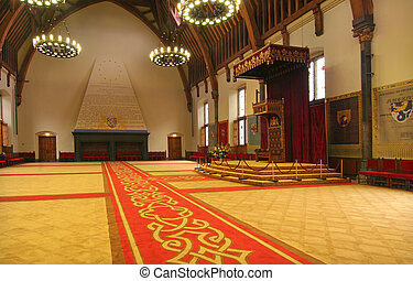 Throne Room - Throne room in The Hague, Holland