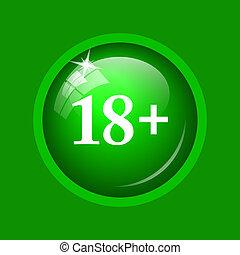 18 plus icon