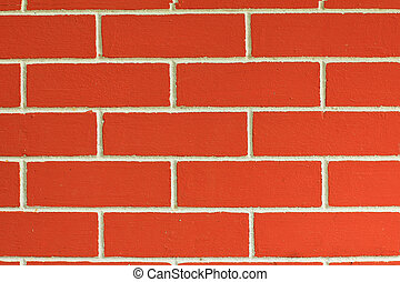 patterned brick walls orange and texture