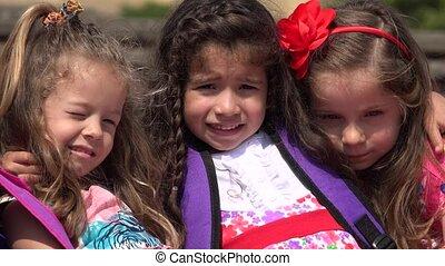 Preschool Girls Adorable Children