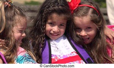 School Children Preschool Girls