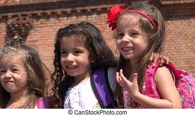 School Girls  Friends