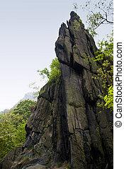 Goethe Rock - Goethe rock in Harz, Germany