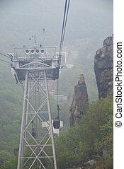 Teleferic - Tefeferic of Thale, Harz Mountains, Germany