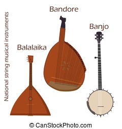 National string musical instruments