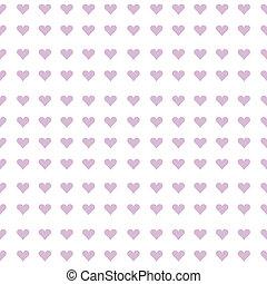 Mauve hearts seamless background