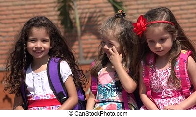 Young Girls Preschool Kids