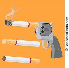 Stop smoking (revolver)